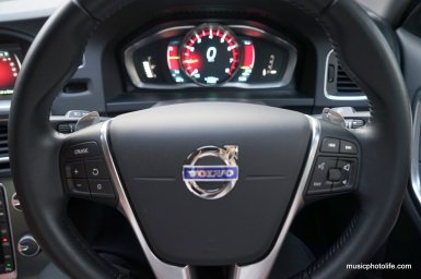 Volvo S60 T5 paddle shifters