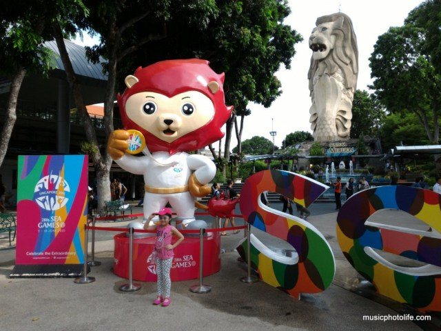 Sentosa SEA Games Nila