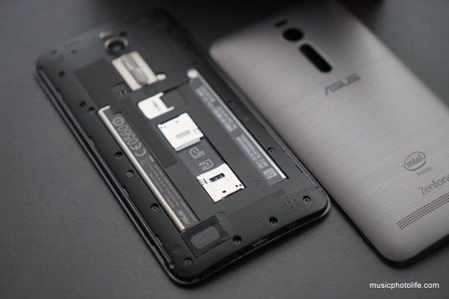 ASUS Zenfone 2 rear inside