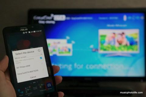 EasyCast OTA on Zenfone 2