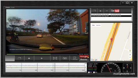 ASUS RECO Car Cam App Screenshot