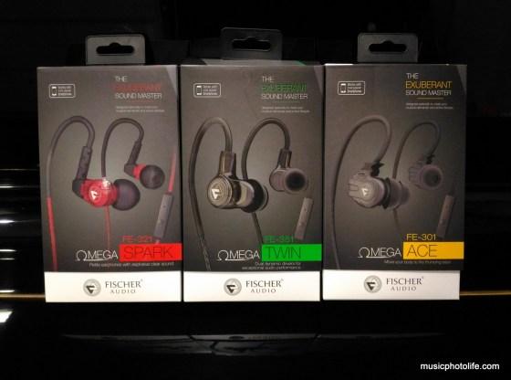 Fischer Audio Omega series