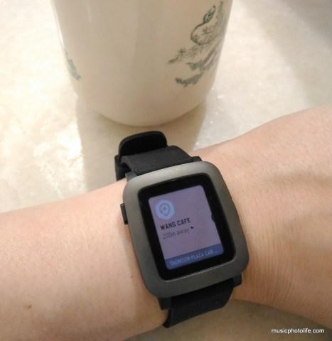 Pebble Time Swarm app