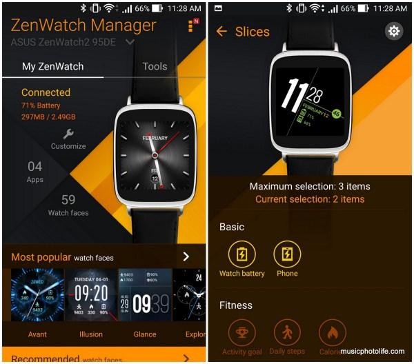 ZenWatch Manager Screenshot