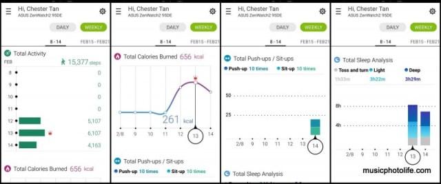 ZenWatch Wellness Screenshot