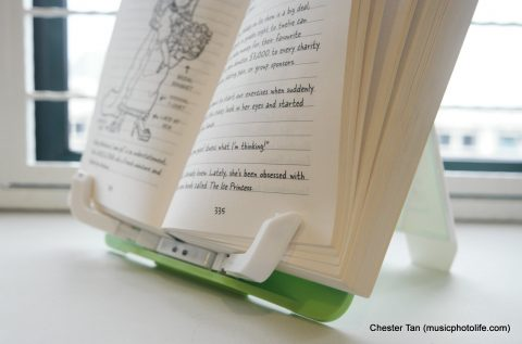 BookBuddy Smart Book Stand review by musicphotolife.com