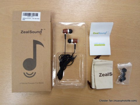 ZealSound HDE-300 full package detail