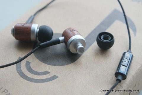 ZealSound HDE-300 in-line mic and eartips removed