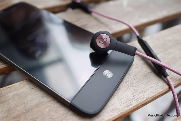 Beoplay H5 with LG G5 Hifi Plus module