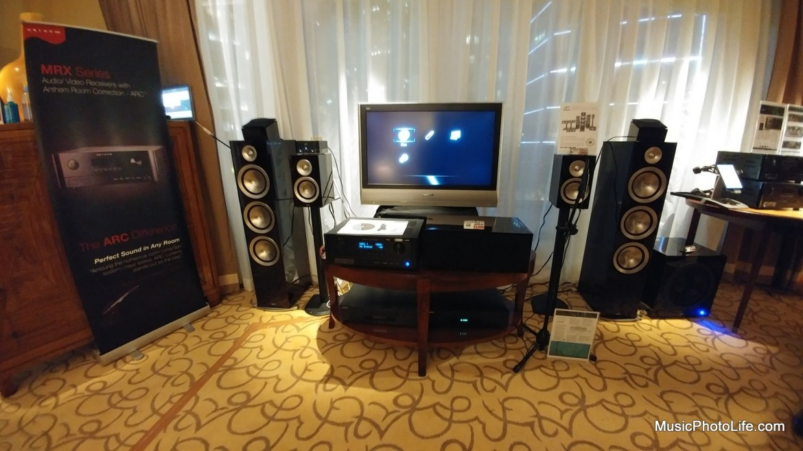 Anthem Speakers product launch in Singapore
