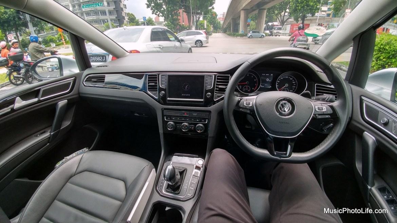Volkswagen Sportsvan driver view