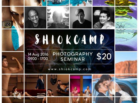ShiokCamp Seminar poster