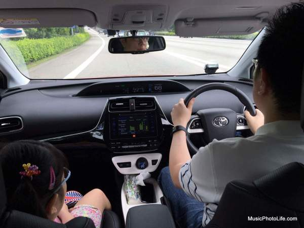 Driving the Toyota Prius 2016