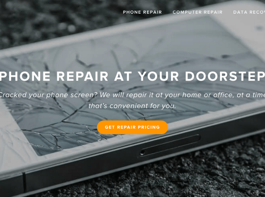 Fynd: On-site Smartphone and Tablet Repair