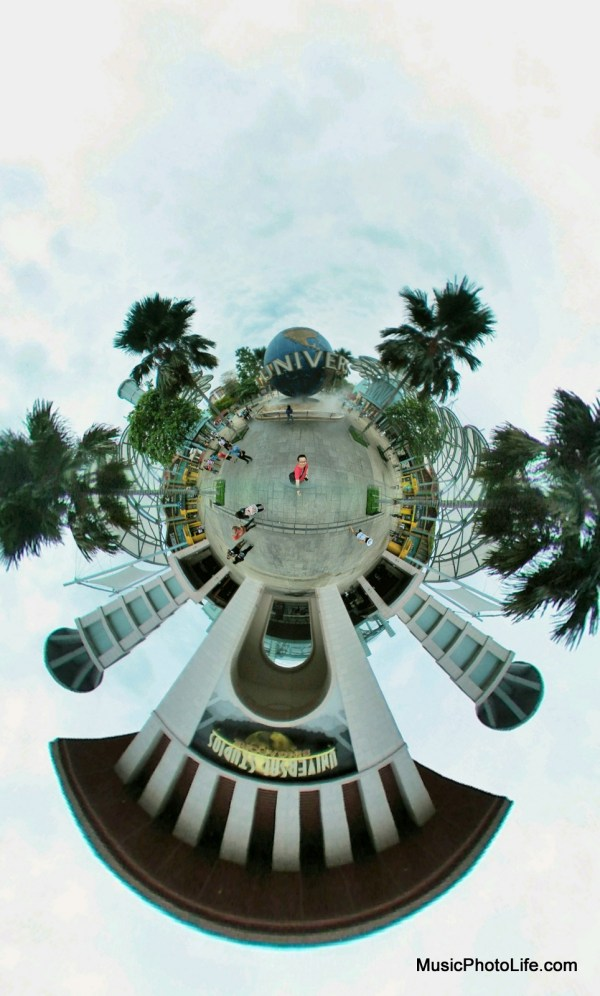 LG 360 CAM at Universal Studios Singapore