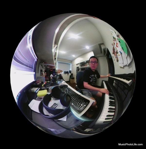 LG 360 CAM fisheye