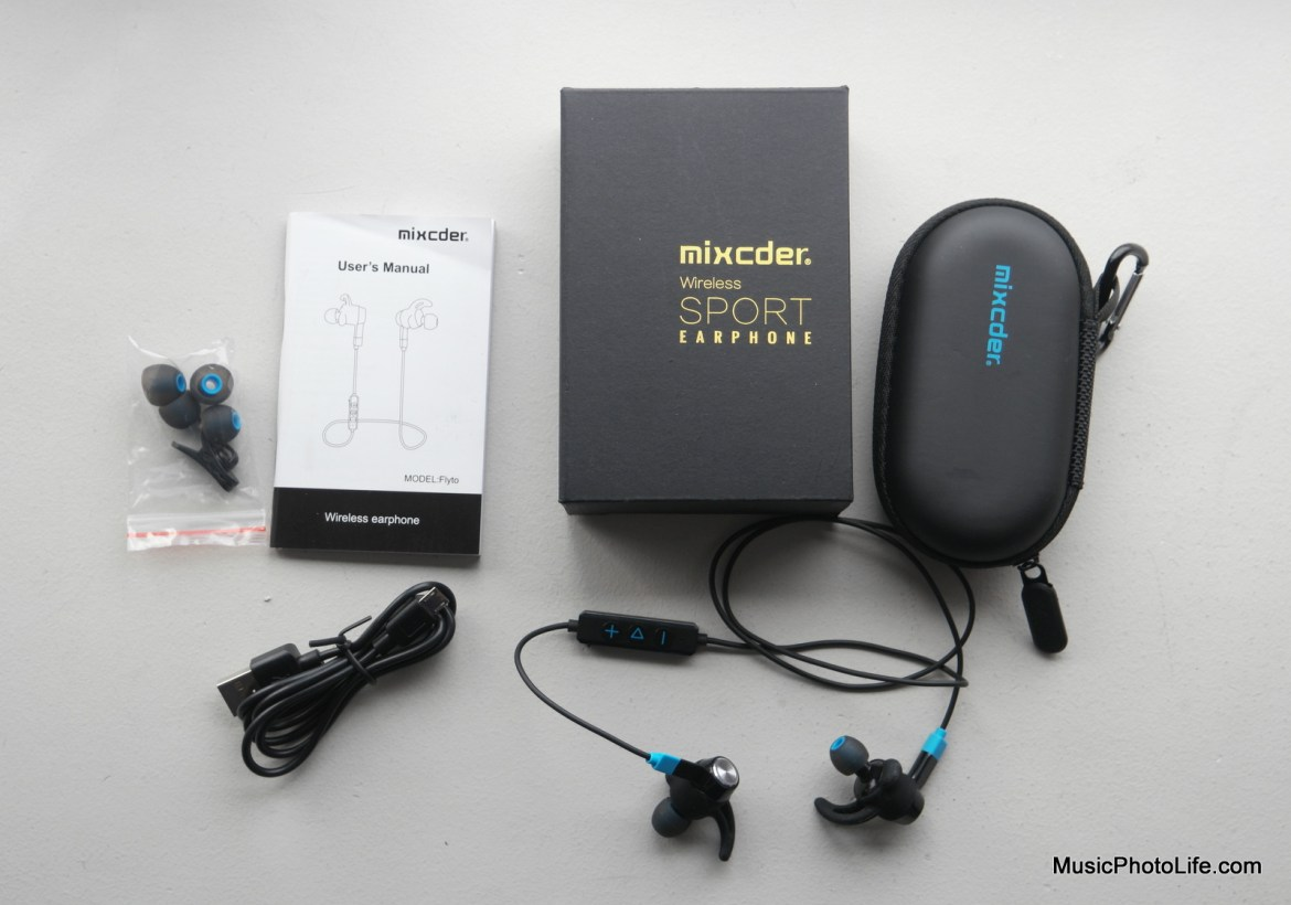 Mixcder Flyto Sports Earphones unboxing