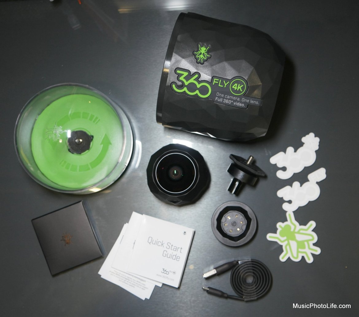 360fly 4K unboxing - review by musicphotolife.com