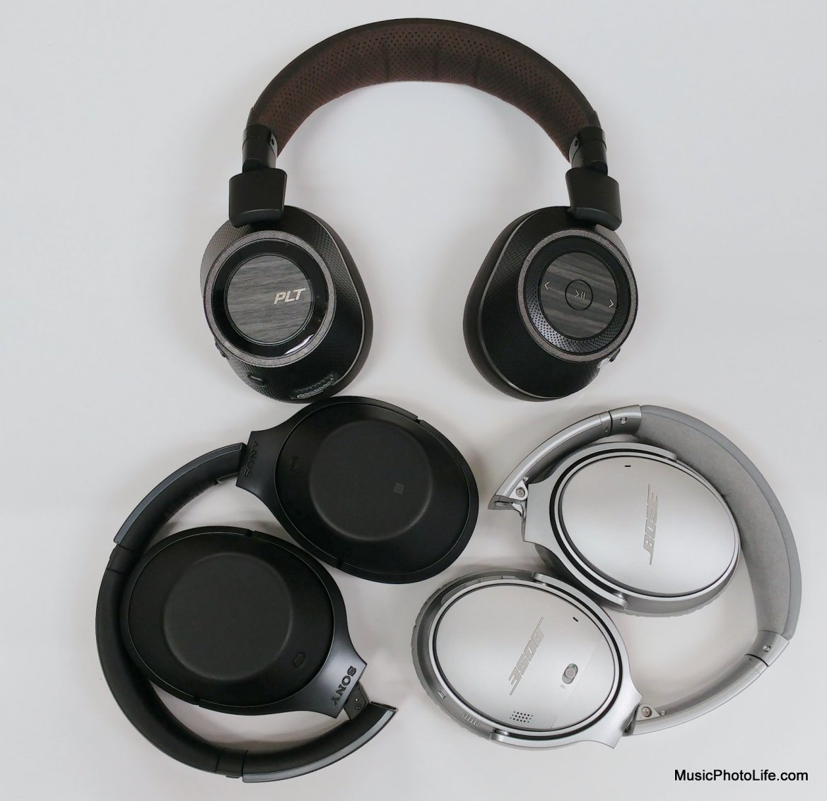 Best ANC headphones compare review by musicphotolife.com