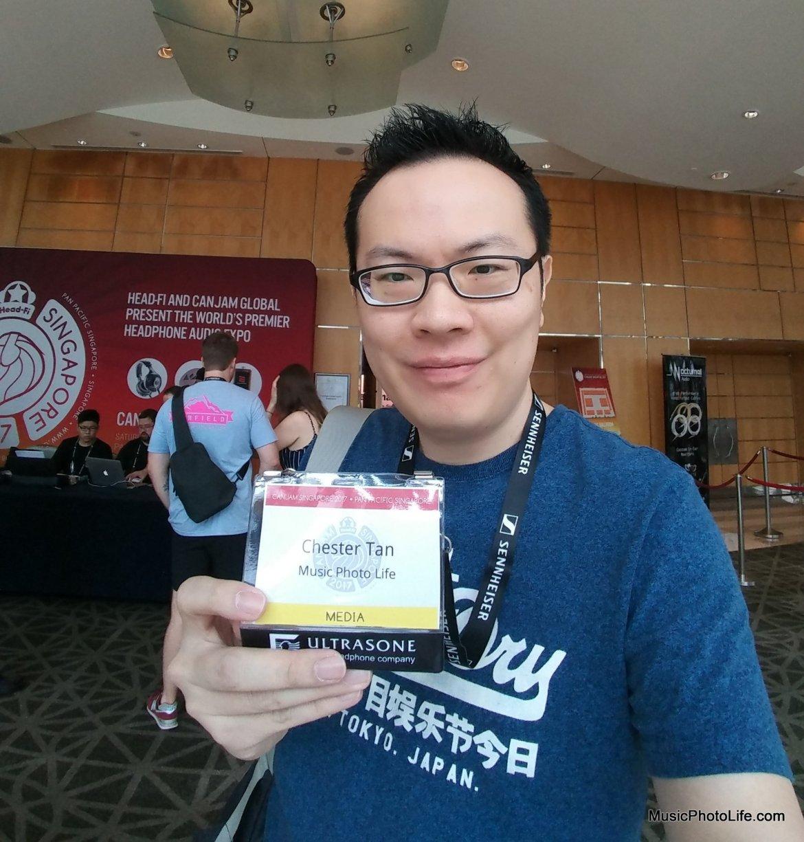 Chester Tan musicphotolife.com at CanJam Singapore 2017