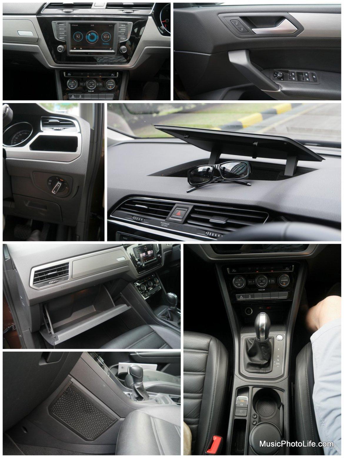 Volkswagen Touran interior details