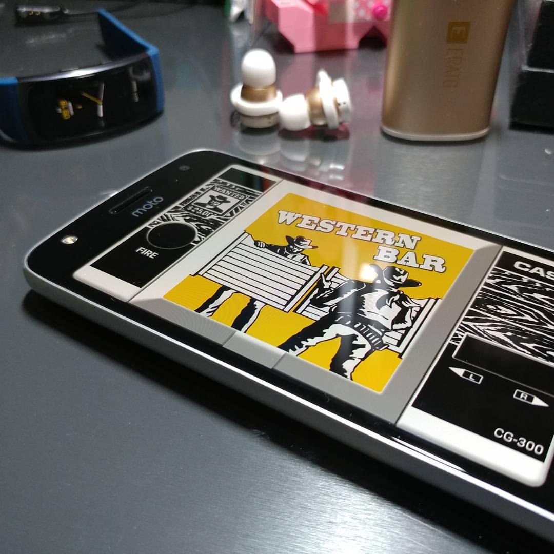 Western Bar Smartphone app Casio CG-300
