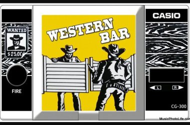 Western Bar Casio handheld game CG-300 screenshot