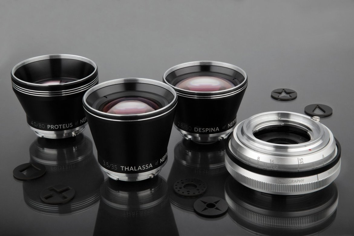 Neptune Convertible Art Lens System by Lomography