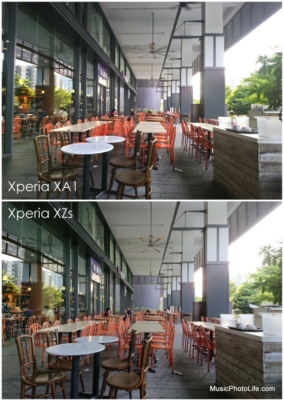 Compare Xperia XA1 and XZs - sample images