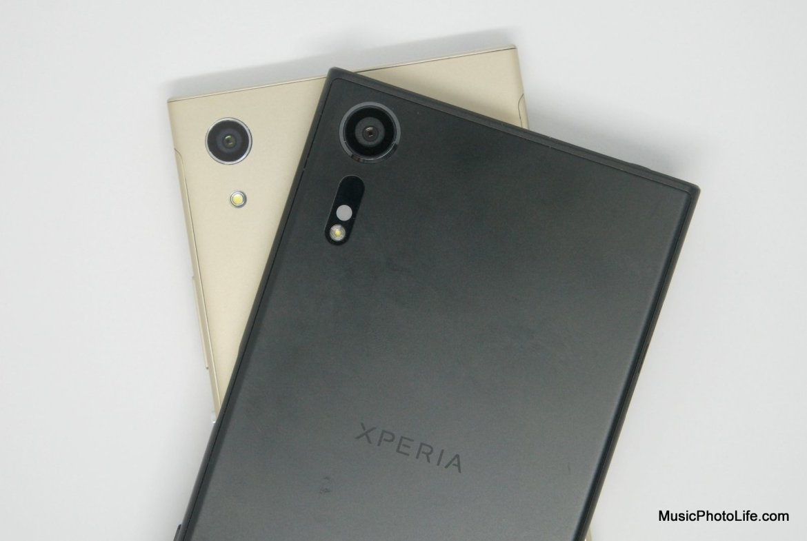 Sony Xperia XA1 and XZs review by musicphotolife.com
