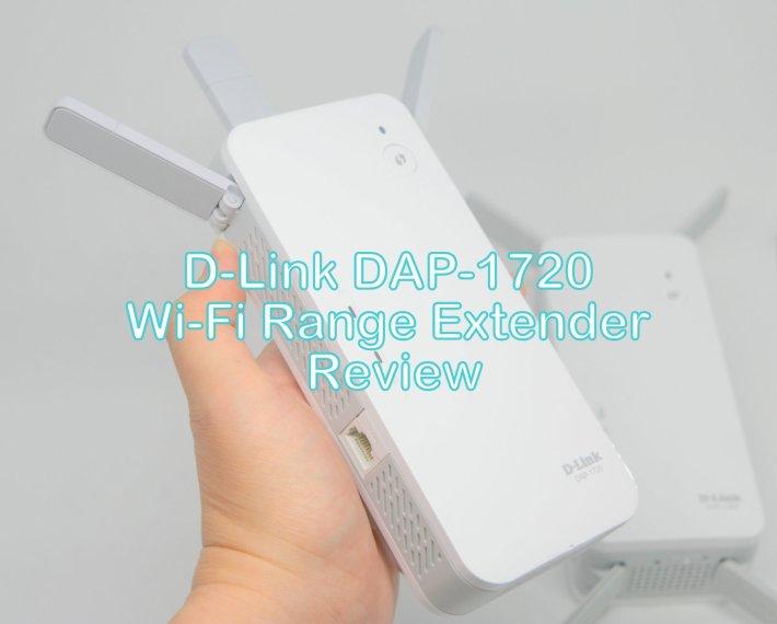 D-Link DAP-1720 AC1750 Wireless Range Extender Review by musicphotolife.com