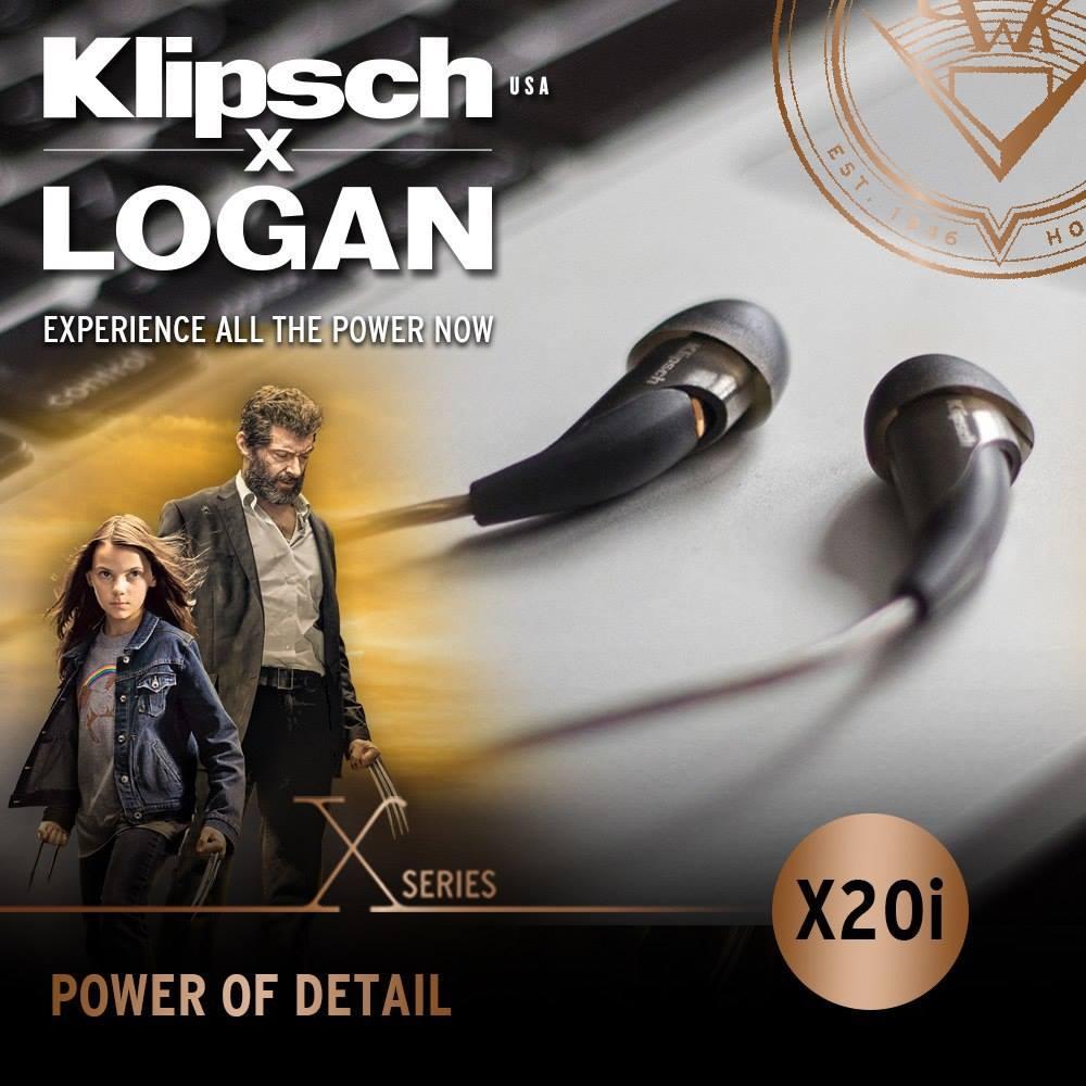 Klipsch X Logan Promotion Singapore X20i
