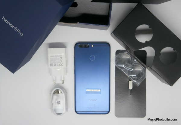 Honor 8 Pro unboxing by musicphotolife.com