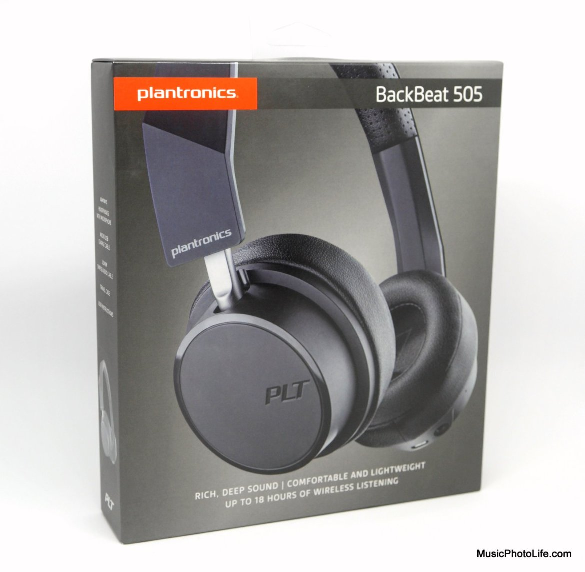Plantronics BackBeat 505 review by musicphotolife.com