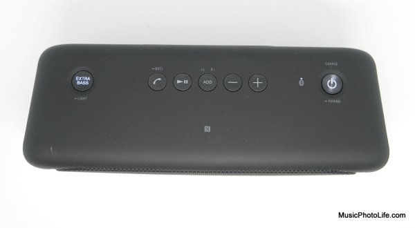 Sony SRS-XB40 Wireless Speaker review by musicphotolife.com