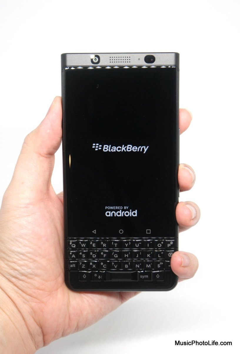 BlackBerry KEYone Singapore Launches Black Edition