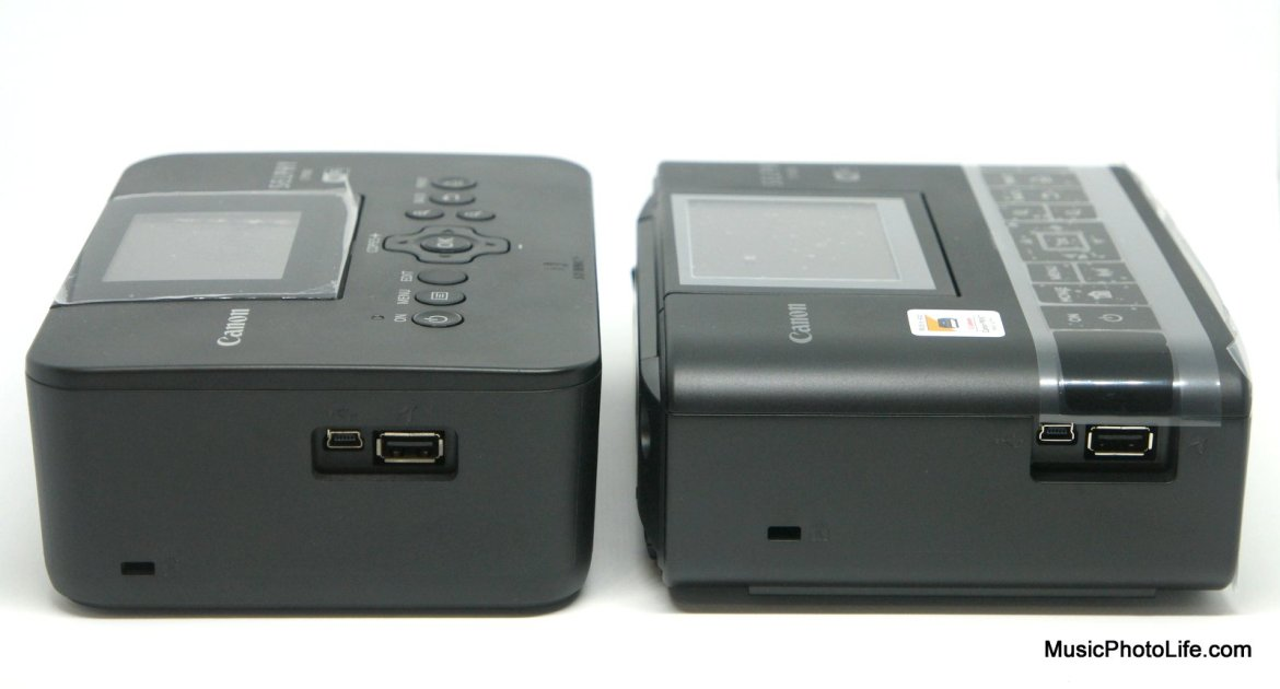 Canon SELPHY CP1300 compares to CP900