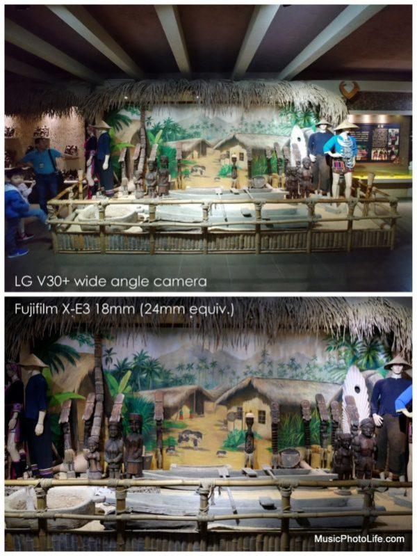 LG V30+ sample image compares to Fujifilm X-E3 18-55mm lens