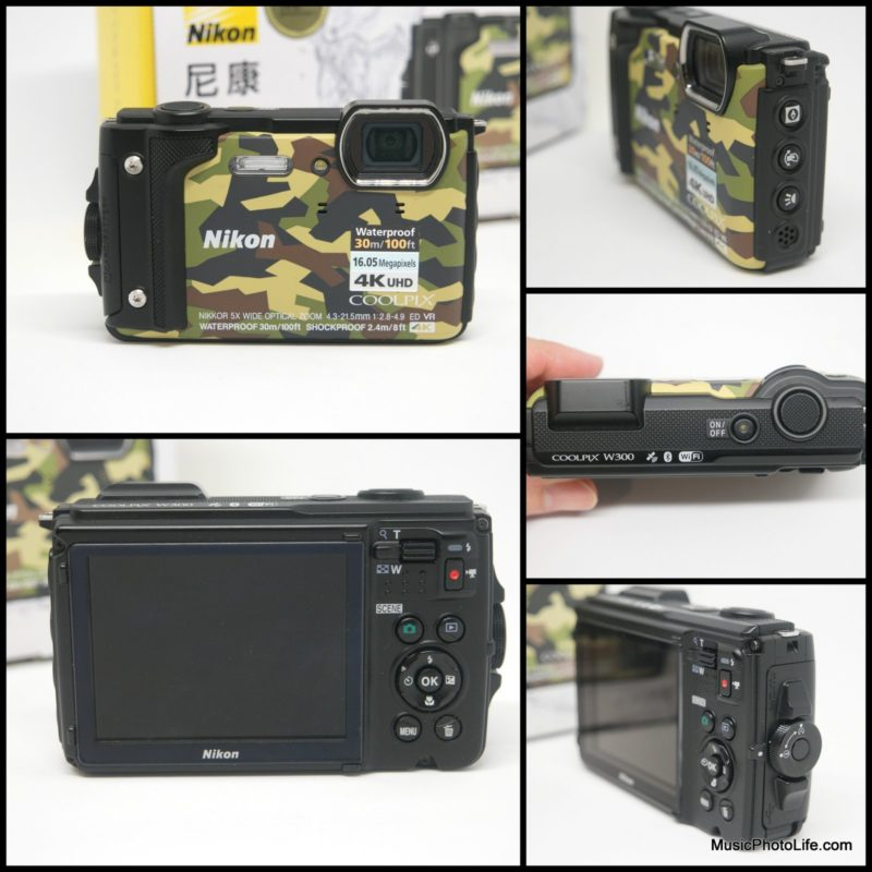 Nikon COOLPIX W300 compact camera details