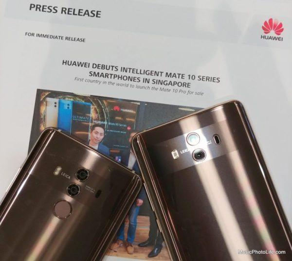 Huawei Mate 10 Pro vs. Mate 10