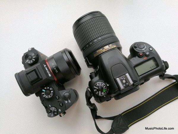Sony A9 vs. Nikon D7500