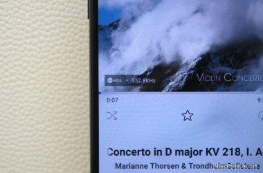 MQA files on LG V30+