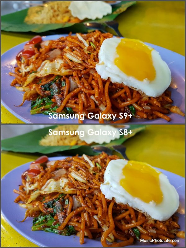 Samsung Galaxy S9+ vs. Galaxy S8+ photo sample