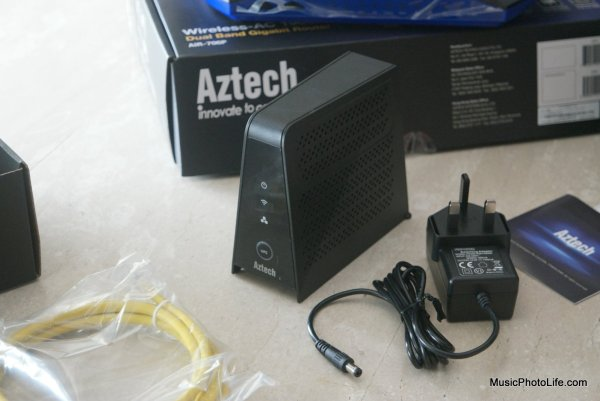 Aztech WMB260(AC) mesh node unboxing