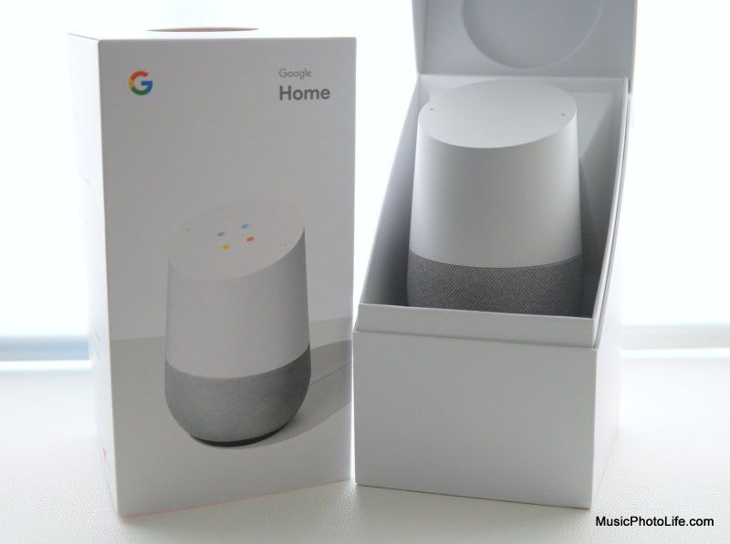 Google Home review by musicphotolife.com