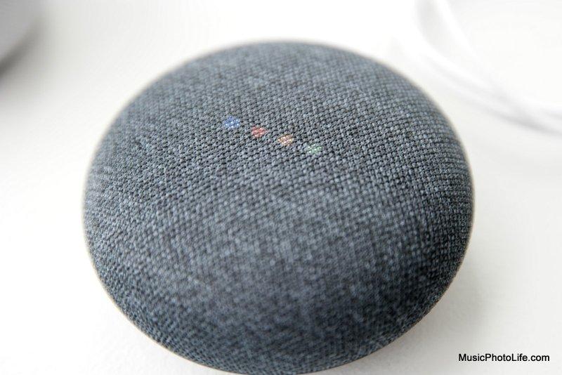Google Home Mini review by musicphotolife.com