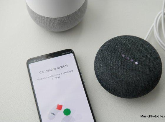 Google Home and Home Mini review by musicphotolife.com