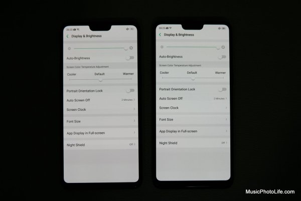 OPPO R15 (left) vs. R15 Pro (right)