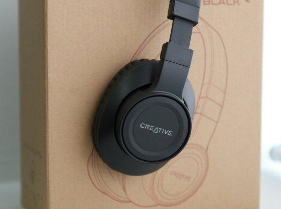 Creative Outlier Black headphones review by musicphotolife.com