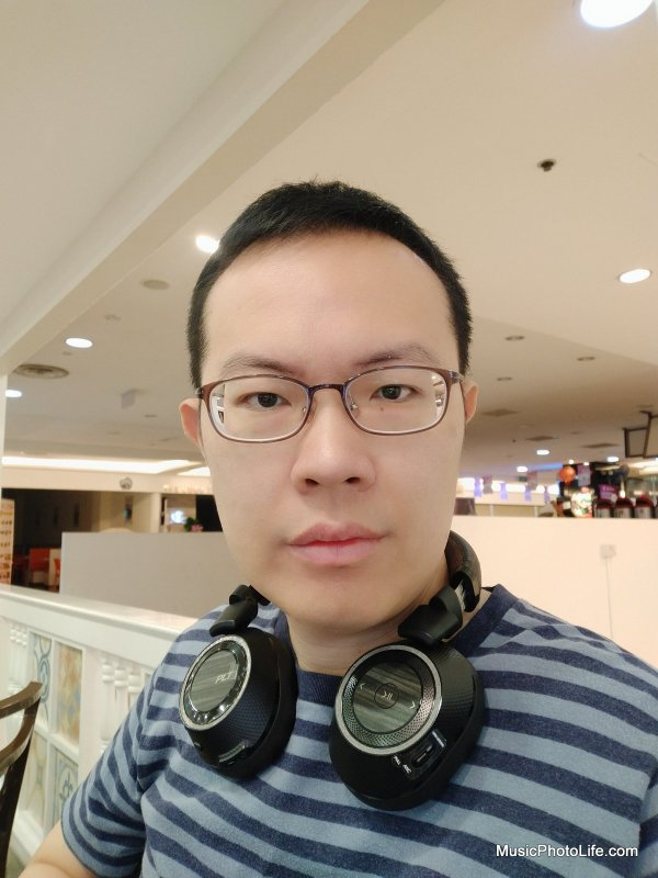 Vivo V9 Smartphone review test photo - selfie
